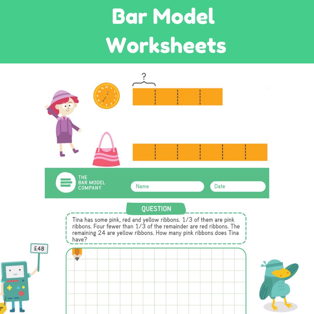 Bar Model Worksheets